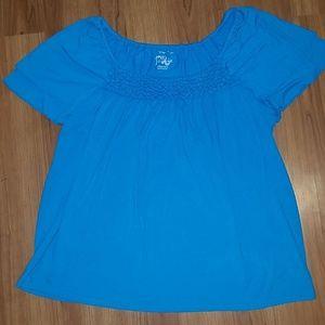 Women's Just My Size blue t-shirt